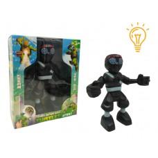 Фигурка Соперника Ниндзя Черепашки ниндзя, пластиковая, подвижные руки, голова, с проектором 14x10x3 см