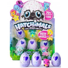 Набор фигурок Hatchimals 4в1+ фигурка Дракоша - CollEGGtibles, Series1, Spin Master