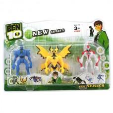 Набор Коллекционных игровых фигурок для мальчиков Бен 10 со световым эффектом 12 см - Ben Ten, Playmates