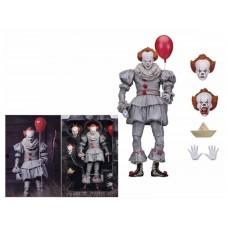 Игровая коллекционная Фигурка Клоун Пеннивайз Оно, высота 18 см - Ultimate Pennywise Well House Figure, Neca
