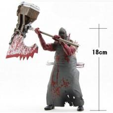 Игровая Коллекционная Фигурка Палача с топором, обмотанным цепью, из игры Обитель Зла 5 - Executioner