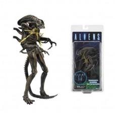 Игровая коллекционная Фигурка Чужой Ксеноморф Воин, высота 22 см - Aliens Xenomorph Warrior Battle Damaged Neca
