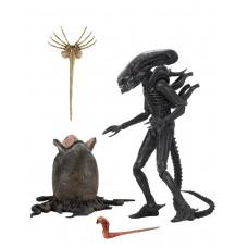 Игровая коллекционная Фигурка Классический Чужой Большой парень - Big Chap Alien , Ultimate Series, Neca