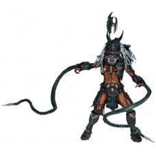 Игровая коллекционная Фигурка Хищник Лидер Клана с аксессуарами, высота 23 см - Predator Deluxe Clan Leader, NECA