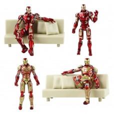 Игровая Коллекционная Фигурка Железный Человек Марк 43 с Диваном - Iron Man, Mark 43 Avengers age of ultron 42933-05 lt-543112/93821