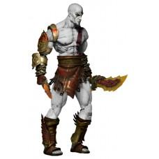 Игровая коллекционная Фигурка Кратос Бог войны Призрак Спарты, с подвижными частями тела, высота 19 см Neca