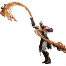 Игровая коллекционная Фигурка Кратос Бог Войны с Огненными мечами Афины высота 18,5 см - Kratos God Of War NECA 42934-05 lt-34482/49301