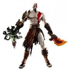 Игровая коллекционная Фигурка Кратос Бог Войны с головой медузы - Kratos God Of War NECA 42936-05 lt-34482/49302