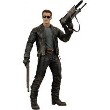 Игровая коллекционная Фигурка Терминатор T-800 высота 18 см - Battle Across Time Terminator 2 Neca