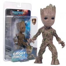 Игровая фигурка Грут Стражи Галaктики с 3 сменными головами, высота 15 см - Guardians of The Galaxy, Marvel