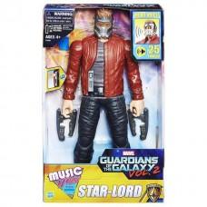 Электронная игрушка Звездный Лорд 30СМ Стражи Галактики - Star-Lord Music Mix, Guardians of the Galaxy, Hasbro