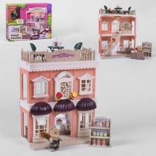 Детский Игрушечный Домик - Магазин для лесных семеек Forest Families, с мебелью, винтовой лестницей и фигуркой