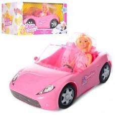 """Детский Игровой набор для девочек Кукла с машиной """"Милана"""" - кабриолет 33 см, высота куклы 29 см, арт. 877-30"""