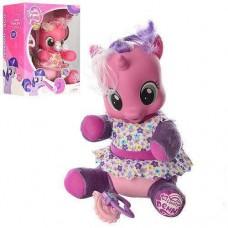 Игрушка Функциональная для девочек Пони с аксессуарами для ухода за питомцем, звуковые и световые эффекты