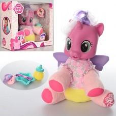 """Детская мягкая игрушка с аксессуарами """"Пони"""" (My Little Pony), размер лошадки 20 см арт. 66228"""