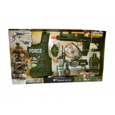 Игровой набор военного с бронежилетом арт. 33490