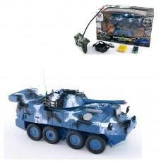 Детский Игрушечный Танк на радиоуправлении с подсветкой и пультом 31-18-18 см арт. 333 - ZJ 01