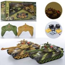 Игровой набор из двух танков Танковый бой на радиоуправлении, размер танка 31 см, световые и звуковые эффекты