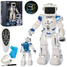 Интерактивная игрушка для детей Робот гидроэлектрический на радиоуправлении с пультом, свет и звуковые эффекты