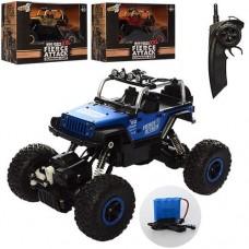 Детская Машина для мальчиков Джип Краулер Crawler, радиоуправление, сменные колеса, полноприводная, арт. 03053