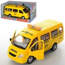 Детская Игрушка для мальчиков Машинка Автопарк Маршрутное такси, звук мотора, свет фар, открывающиеся двери