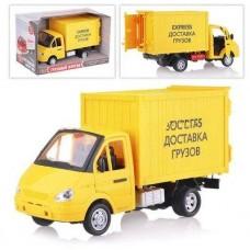 Детская Машинка для мальчиков Автопарк: Express Доставка грузов со светом и звуком, открывающиеся двери