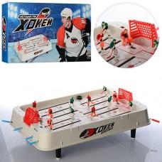 Настольная спортивная игра Хоккей на штангах (поле, 12 фигурок, ворота, шайбы) от PlaySmart арт. 0701