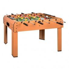 Настольная спортивная деревянная игра Футбол с футболистами на штангах, шкала ведения счета 94х51х73см*
