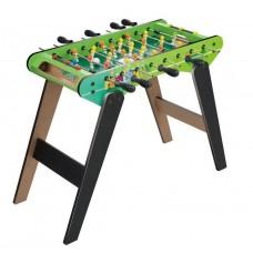 Настольная Спортивная игра Футбол детский деревянный на ножках со шкалой ведения счета, 8 подвижных штанг 62х28х54см