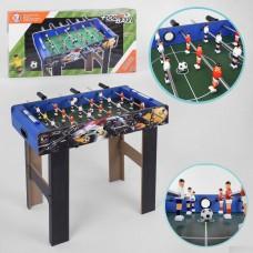 Настольная спортивная деревянная игра Футбол с 6 штангами по 9 игроков, счетчик ведения счета 69х36х66см