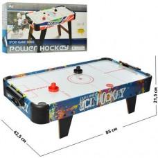 Спортивная игра Аэрохоккей детский со счетчиками и съемными ножками - Настольный Хоккей от батареек 85х43х22см