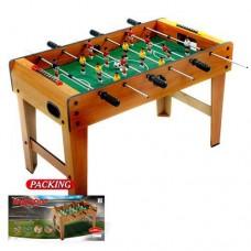 """Настольная деревянная игра """"Футбол"""" на штангах (поле,  мяч, шкала счета) размер 80-42,5-50 смарт. 1017"""