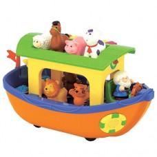 Детская Музыкальная игрушка Ноев ковчег с фигуркой Ноя и животных, стихи и песни на украинском Kiddieland