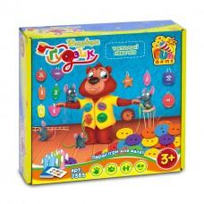 Детская Развивающая Настольная игра Шнуровка с пуговицами 4 основы, 36 пуговиц, 30 заданий Fun Game арт. 7383