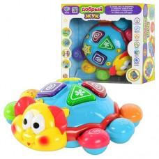 Детская Развивающая Музыкальная игрушка Добрый жук, обучает, двигается, звуковые и световые эффекты арт. 7013