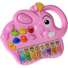 Детская развивающая музыкальная игрушка Пианино с мелодиями и звуками животных, Play Smart (РОЗОВОЕ) арт. 7252