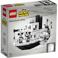 Lego Ideas Пароходик Вилли 21317