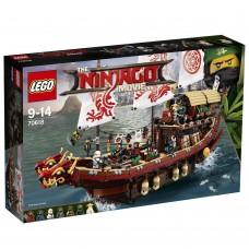 The Lego Ninjago Movie Летающий корабль Дар судьбы 70618