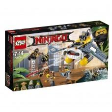 The Lego Ninjago Movie Бомбардировщик Морской дьявол 70609