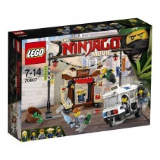 The Lego Ninjago Movie Погоня по городу Ниндзяго 70607 42716-03 bb-70607
