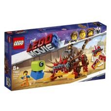 Lego Movie 2 Ультра-Киса и воин Люси 70827