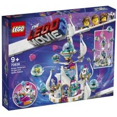 Lego Movie 2 «СОВСЕМ-НЕ-СТРАШНЫЙ» космический замок королевы Многолики Прекрасной 70838