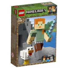 Lego Minecraft Алекс с цыплёнком 21149