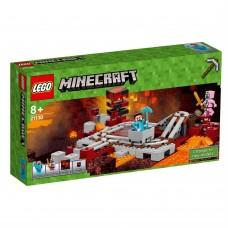 Lego Minecraft Подземная железная дорога 21130