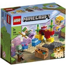 Lego Minecraft Кораловыйриф 21164