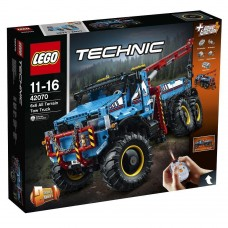 Lego Technic Полноприводный шестиколесный тягач 6х6 42070
