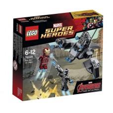 Lego Super Heroes Железный человек против Альтрона 76029