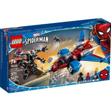 Lego Super Heroes Реактивный самолёт Человека-Паука против Робота Венома 76150