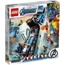 Lego Super Heroes Битва за башню Мстителей 76166