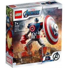 Lego Super Heroes Робоброня Капитана Америки 76168